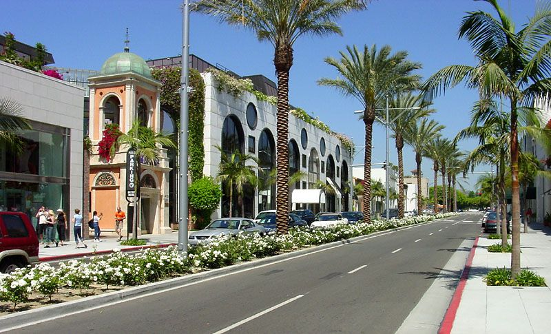 Rodeo Drive, Los Angeles, CA. Check! Places to visit
