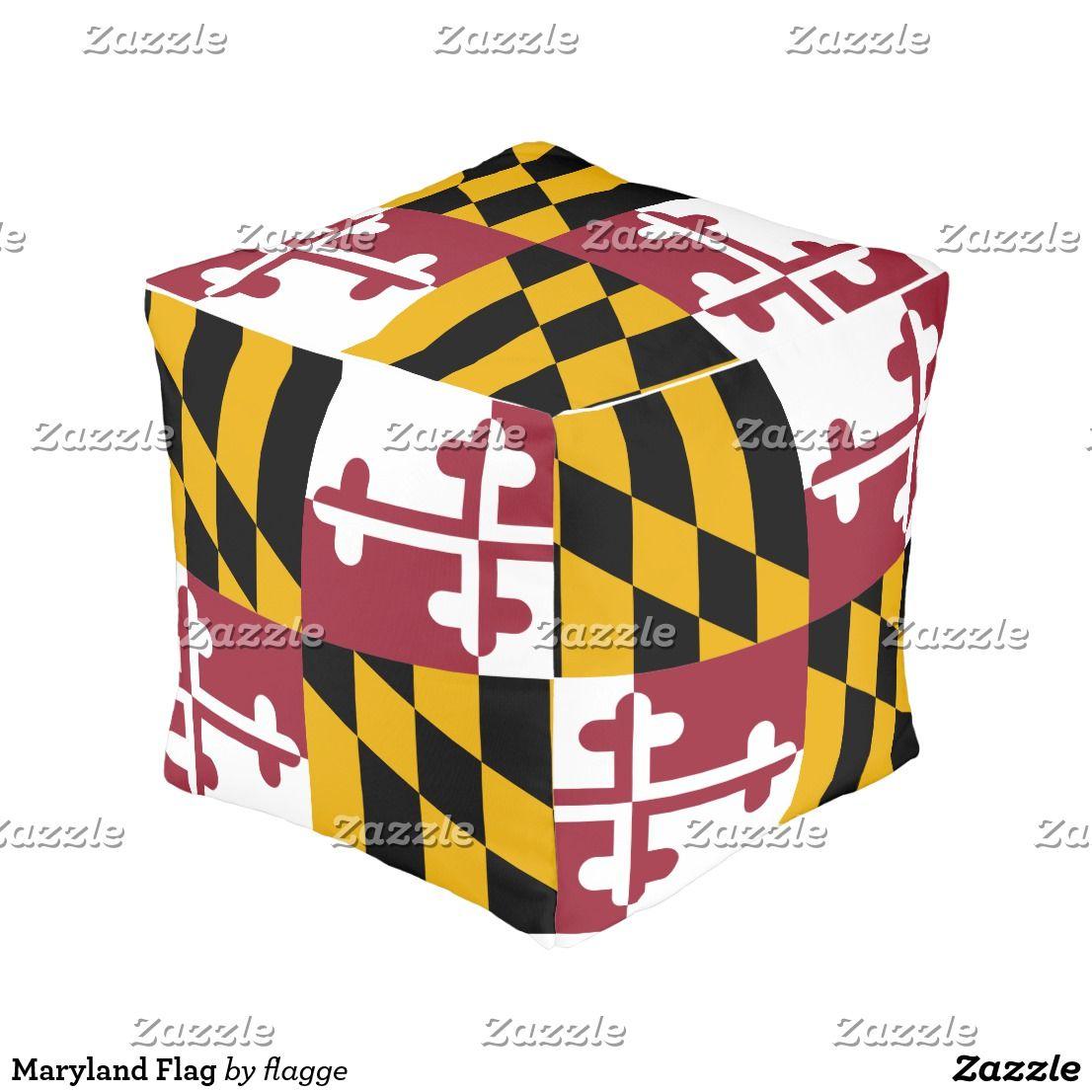 Maryland Flagge Hocker Zazzle De Hocker Schone Zuhause Und Ideen