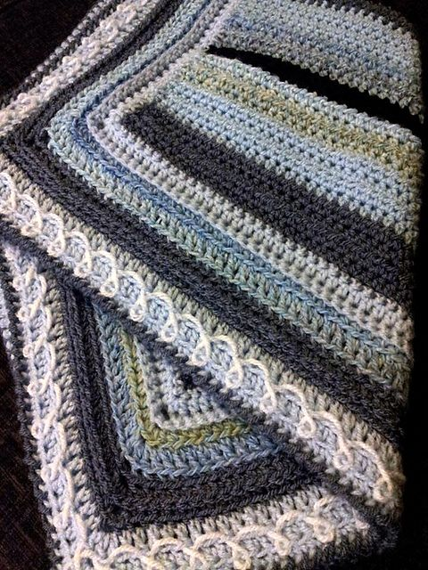 Ravelry: A Blanket for All Seasons pattern by Mary Thomson   hækling ...