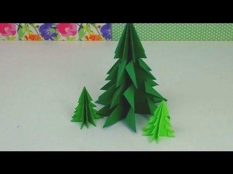 Weihnachten basteln tannenbaum basteln mit papier - Weihnachtsbaum basteln papier ...