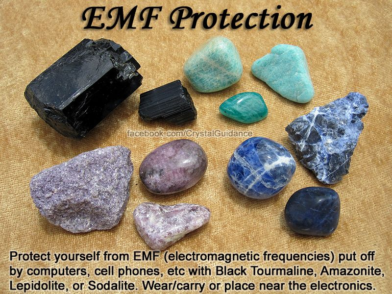 Crystals for EMF Protection — Protect yourself from EMF