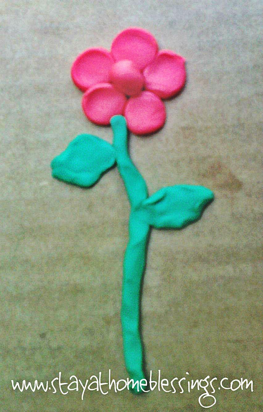 clay art for kids flower clay flower darbiņi pinterest clay