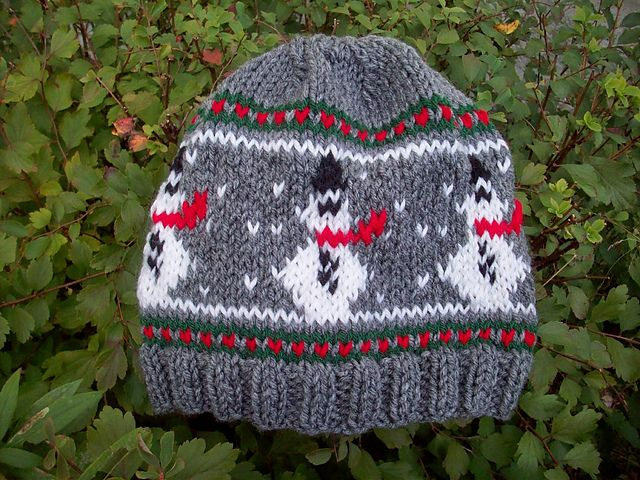 Ravelry Snowman Hat Pattern By Courtney Carter Knit Christmast