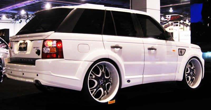range rover tricked out tricked out showkase a custom car