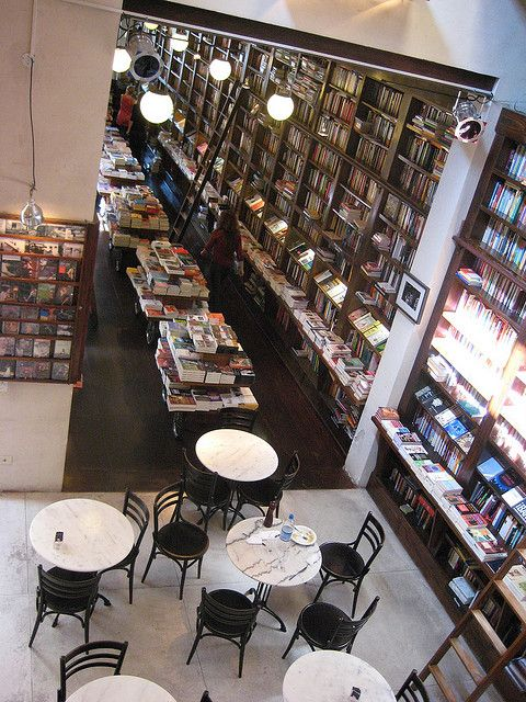 boutique del libro | wunderlust | Book cafe, Coffee, books ...