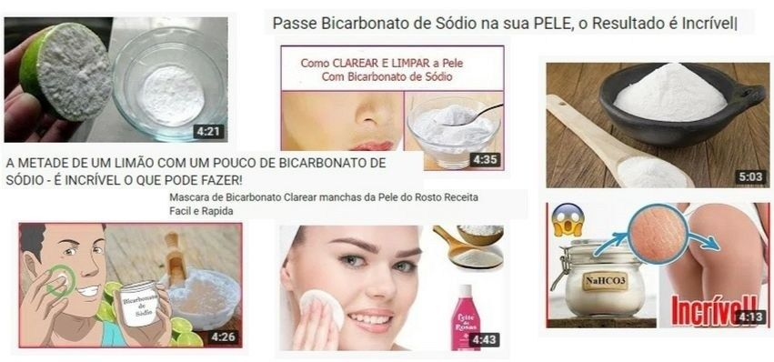 Bicarbonato Clareia A Pele Leia Antes De Usar Clarear Pele