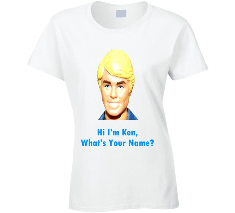 739485e9b Ken Doll Ken and Barbie retro look Ken classic t-shirt Barbie's boyfriend t  shirt Hi I'm Ken FUNNY shirts
