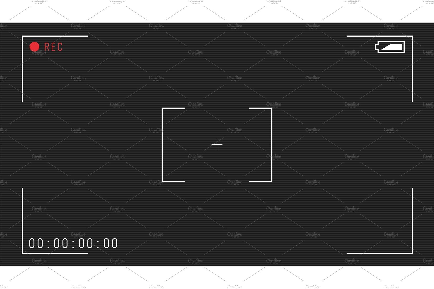 Video Camera Overlay Overlays Camera Frame Frame Template