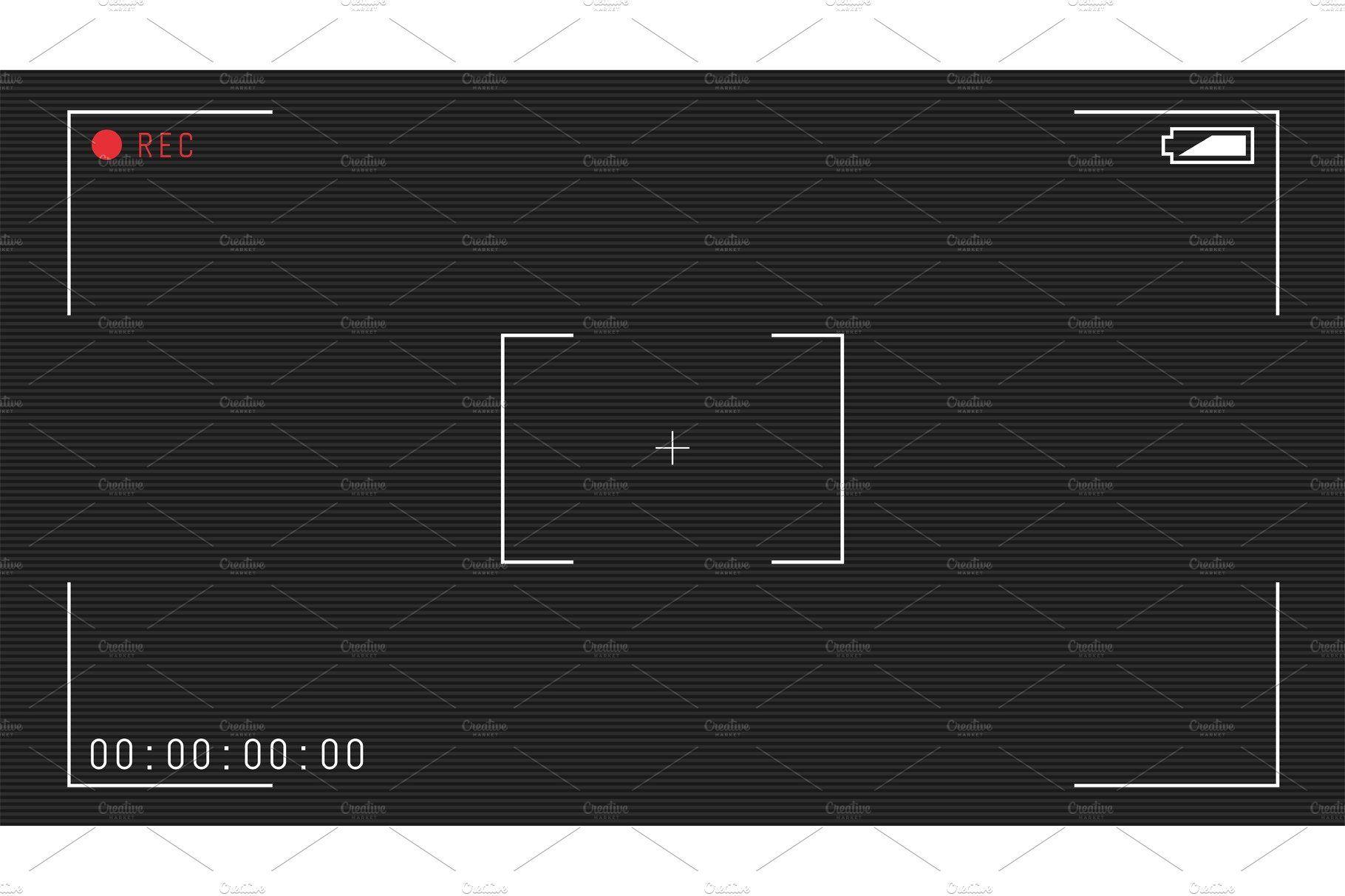Video Camera Overlay Overlays Camera Frame Frame Template