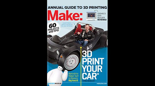 Feed your creative side with books from Make: and support charity!