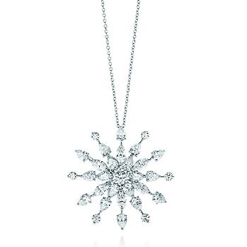 1eb5540f3 Tiffany Snowflake Diamond Pendant..... Oh so pretty!!! | snowflakes ...