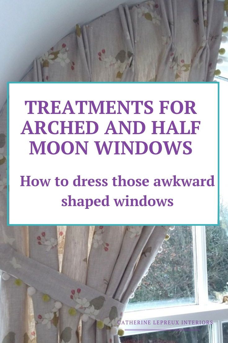 Window dressing ideas for arched windows  curtains for arched windows in fife  inspiration for window
