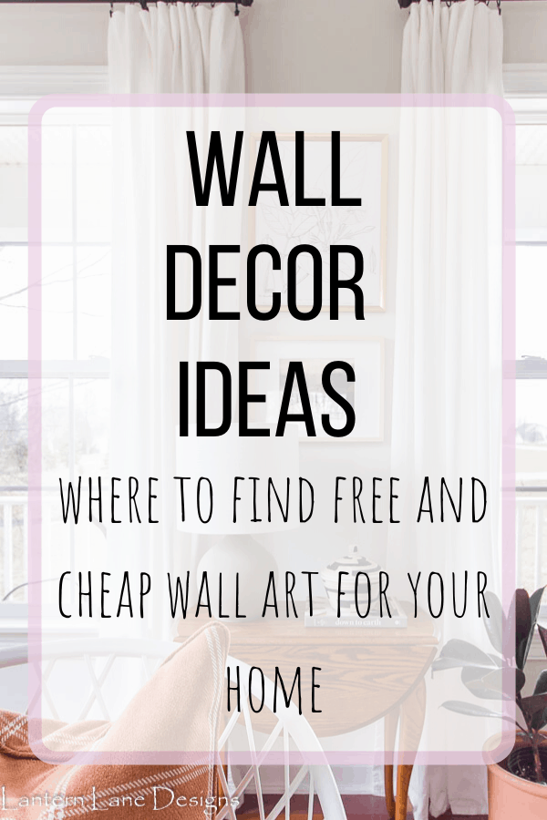 Cheap Wall Decor Ideas And Where To Find Affordable Art For Your