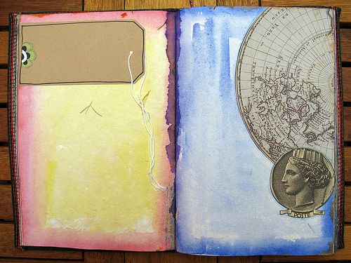 Blank Travel Journal | Custom travel journal | Georgina Ferrans | Flickr