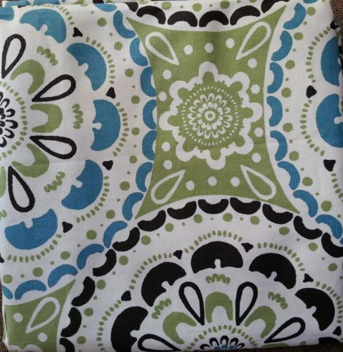 Threshold / Home for Target Blue & Green Medallion Shower Curtain ...