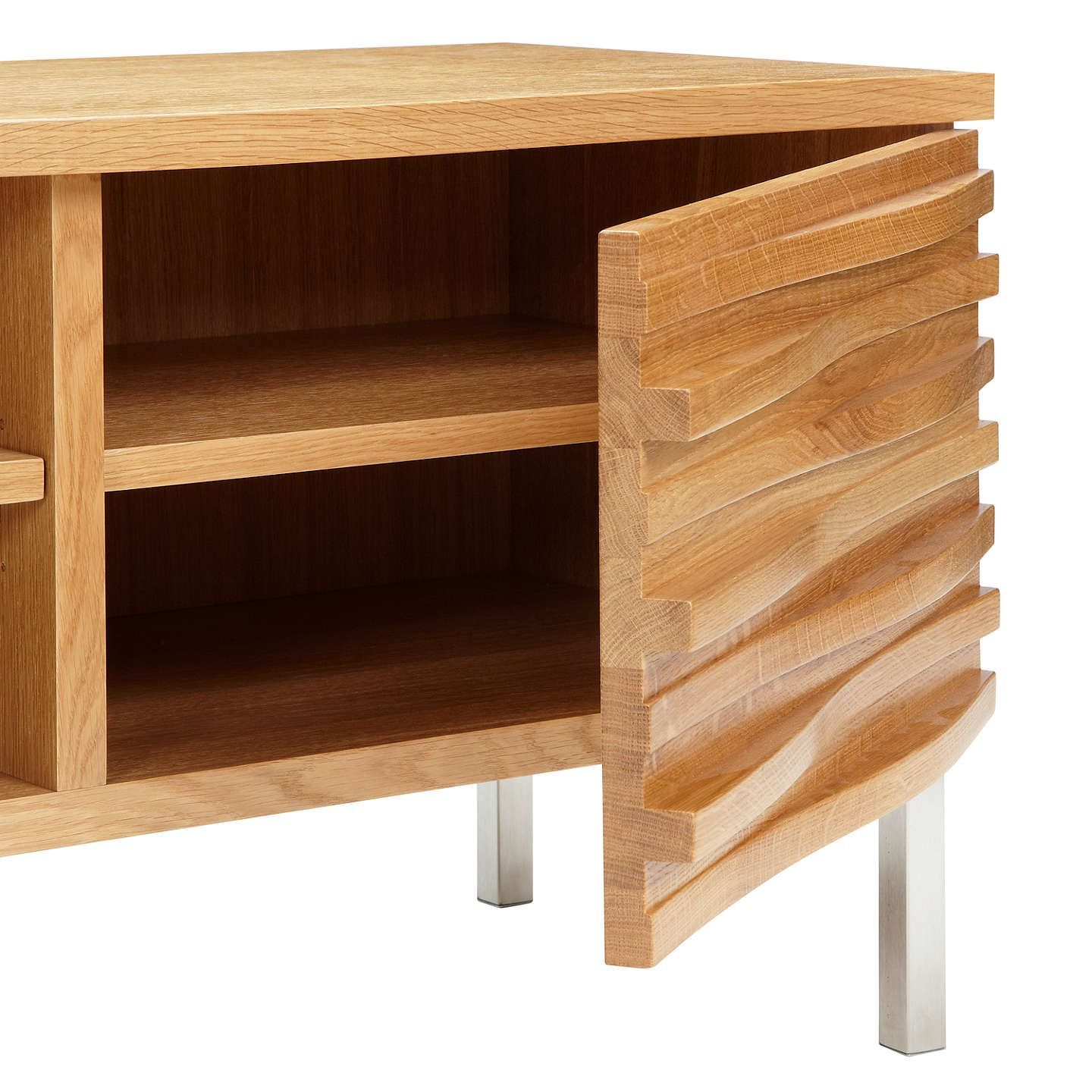 Buycontent By Terence Conran Wave Tv Stand Oak Online At  # Meuble Tv Wave