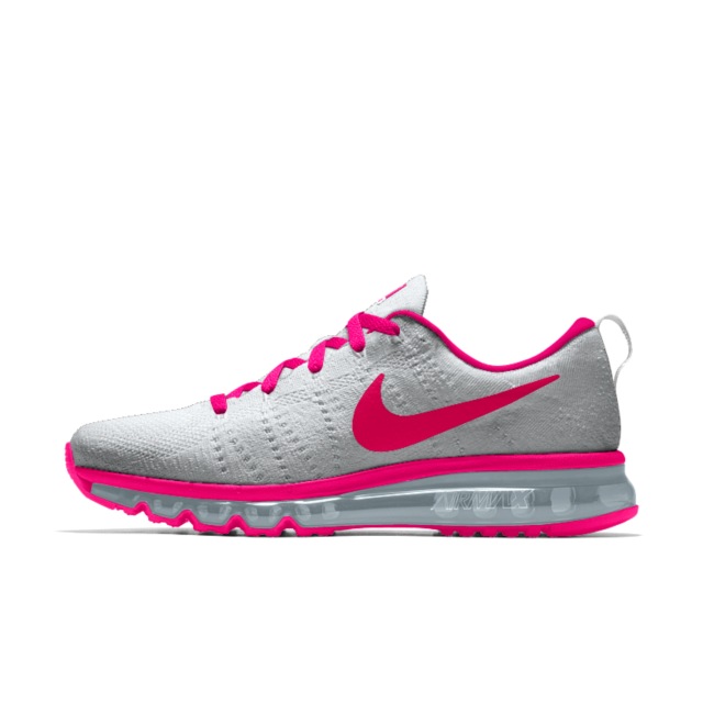 official photos 3573b 674dc Calzado de running para mujer Nike Flyknit Air Max iD-ENERGY PINK