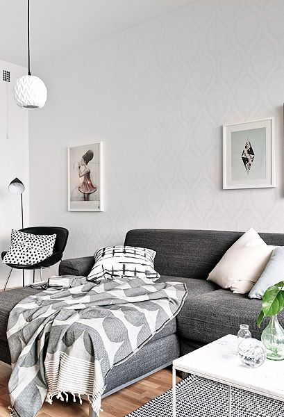 Via Coco Lapine | Grey and White | House of Rym Blanket