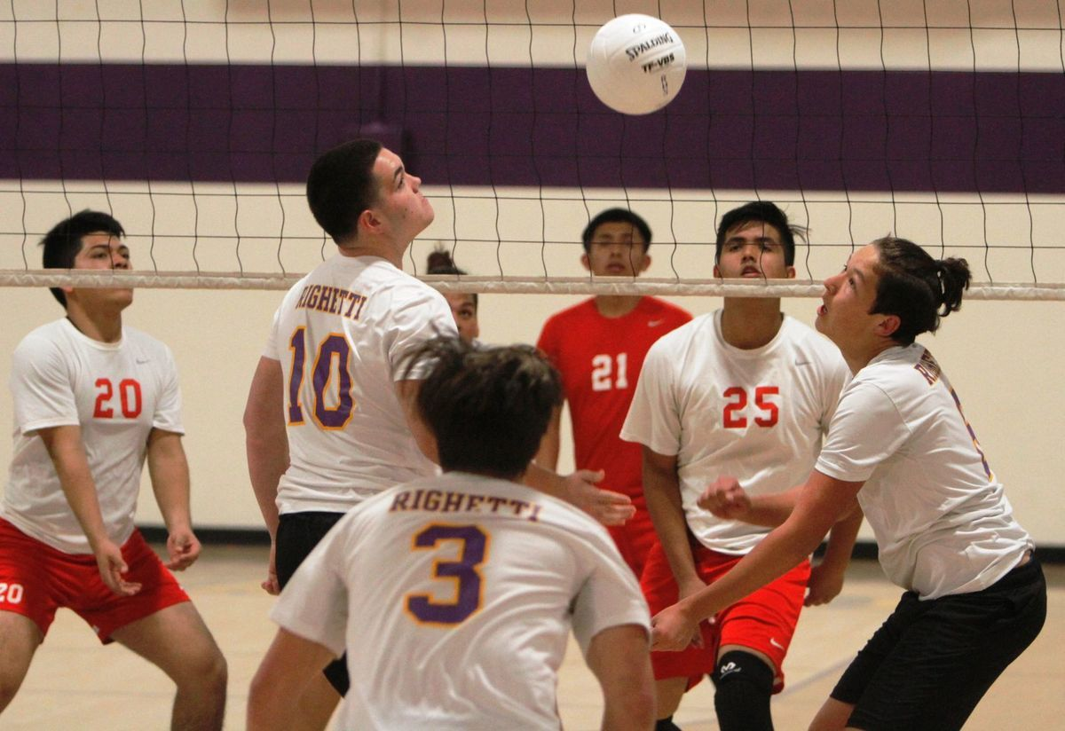 Boys Volleyball Warriors Sweep Scrappy Saints Squad Volleyball Boys Warrior