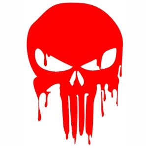 Pin On Punisher Skull Vector