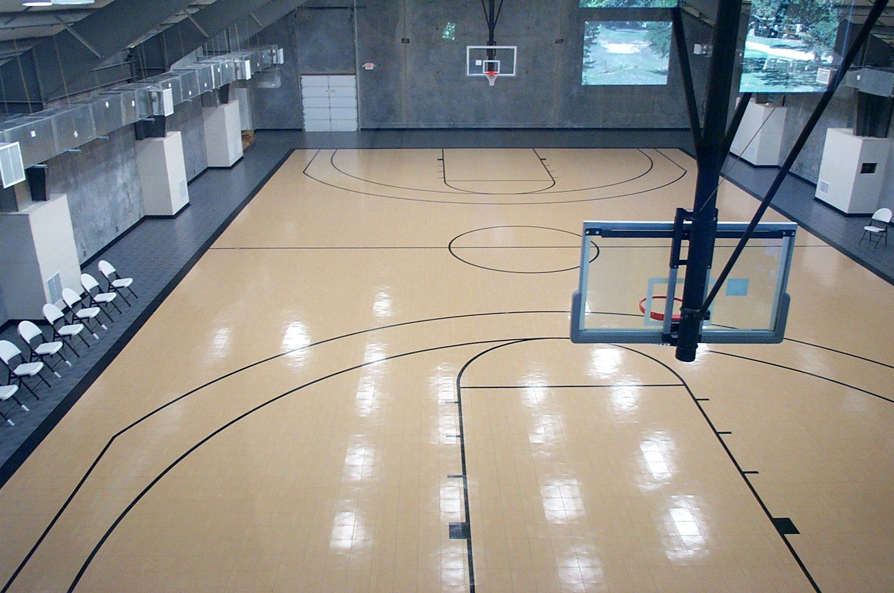 Pin By Sport Court Midwest On Commercial Indoor Courts Home Basketball Court Indoor Basketball Court Indoor Basketball