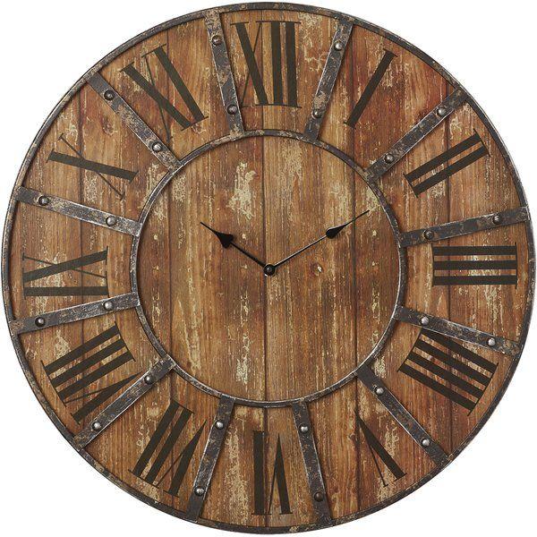 Oversized Printed 23 Wall Clock Oversized Wall Clock Wood Wall Clock Wall Clock