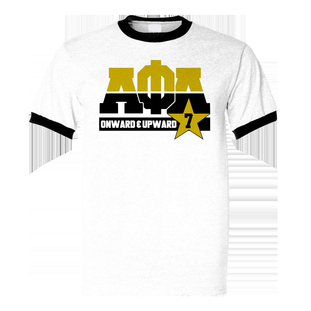 Alpha Phi Alpha Dream Ringer T-Shirt | Alpha | Alpha phi