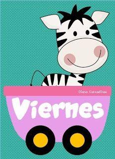 Sgblogosfera Maria Jose Argueso El Tren De La Semana Dibujos Para Preescolar Salones De Preescolar Materiales Para Preescolar