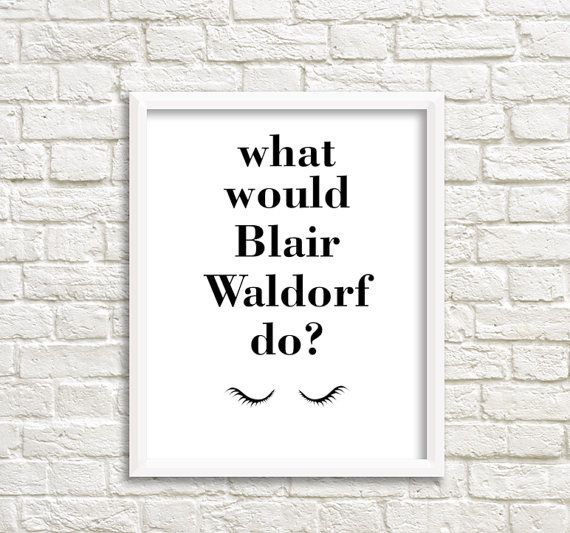 teen girl room decor what would blair waldorf do by grafikshop - Blair Waldorf Wohnheim Zimmer