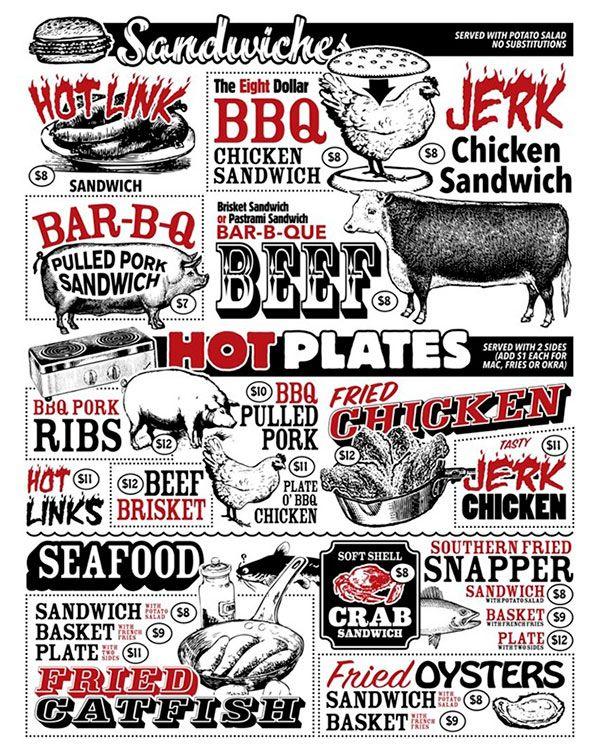 Trendy restaurant menus google search menu styles