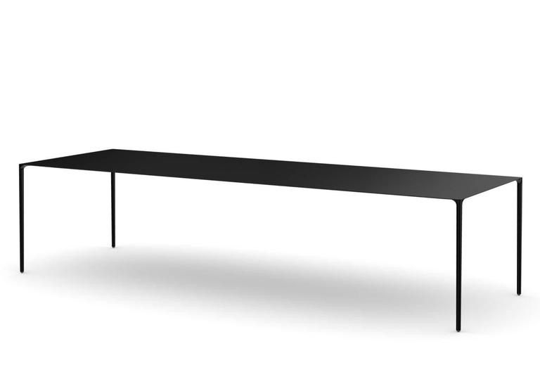 Established And Sons Surface Table In Carbon Fibre Surface Table Dining Table In Kitchen Table