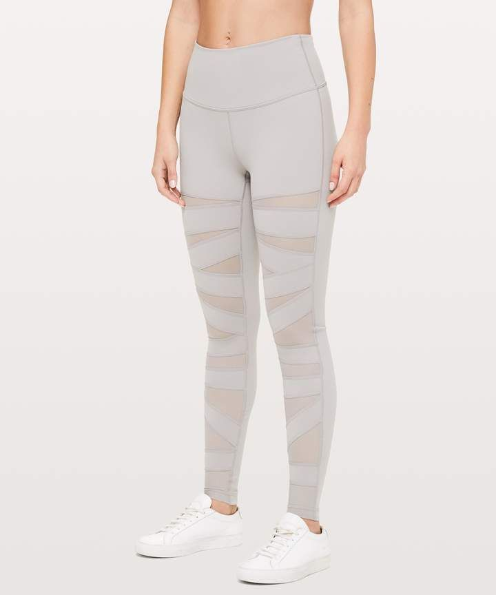 930916400b Workout outfits / Workout Clothes / Workout Inspiration / #shopstyle #style  #fashion #workout / Lululemon Wunder Under Pant (High-Rise) *Tech Mesh 28