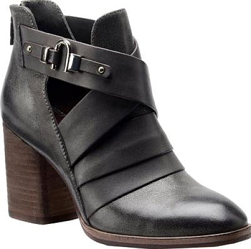Compare Prices on Isola Ladora Strappy Bootie in Pewter