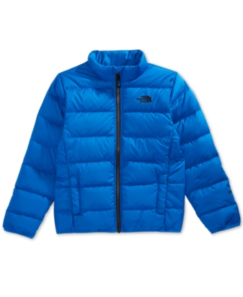 e8c3fbbe390 The North Face Little & Big Boys Andes Zip-Up Puffer Jacket - Blue XXS