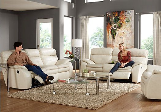 Picture Of Corsica Ivory 2 Pc Reclining