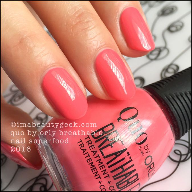 Orly Breathable Nail Polish By Quo Swatches And Review Beautygeeks Nail Polish Nails How To Do Nails