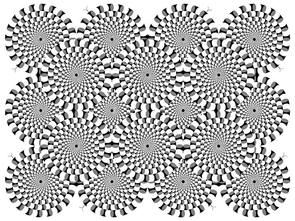 free coloring page coloring difficult optical illusion 2 an