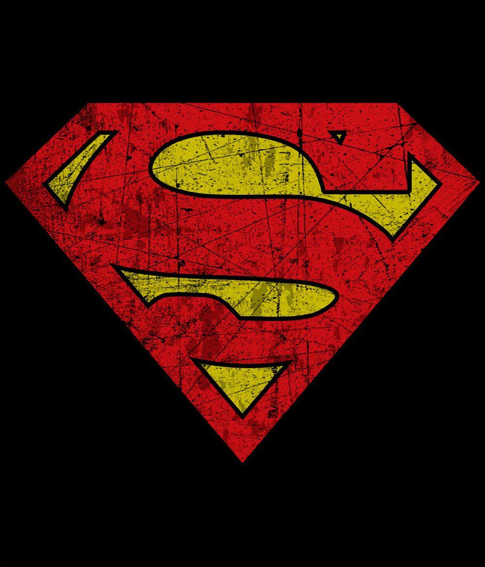 superman logo Vintage