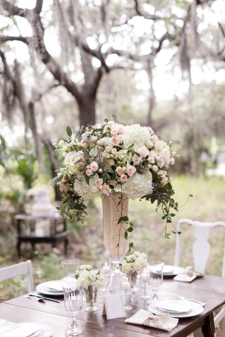 Pink Rustic Elegant Wedding Inspiration Centerpieces Pinterest