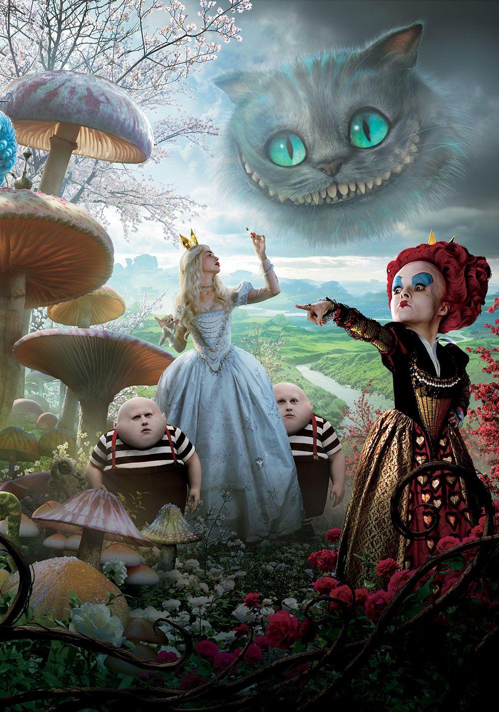 Alice In Wonderland Filme Alice No Pais Das Maravilhas Tim