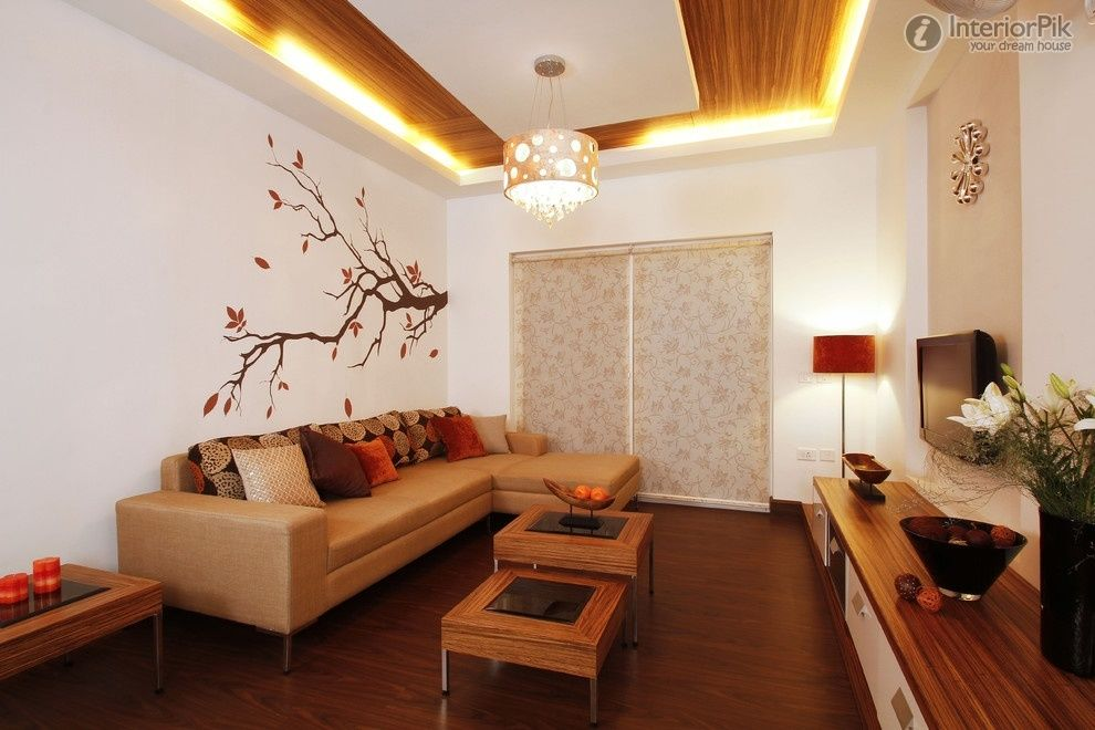 Effect Picture Of Simple Figure Of The Small Living Room Ceiling Lights Living Room Home Decor Living Room Designs