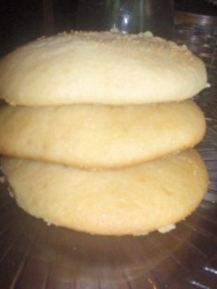 Amish Sugar Cookies Recipe - Food.com. I made these with applesauce instead of oil and they turned out wonderful. #cakecookies #halloweensugarcookies