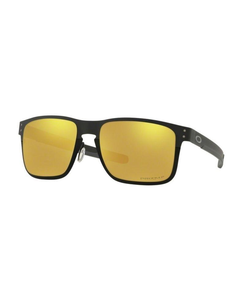 948c29f4b4a Sunglasses OAKLEY HOLBROOK METAL 4123-20 Black Prizm 24K Polarized (eBay  Link)