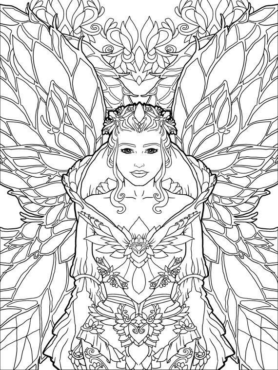 Beautiful Fairy Coloring Page Fairy Coloring Book Fairy Coloring Pages Fairy Coloring