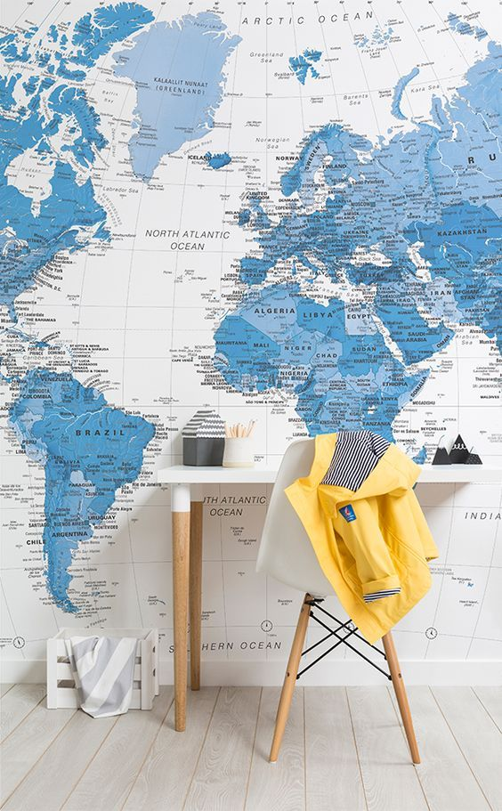 Our blue and white world map wall mural is a wonderful design that our blue and white world map wall mural is a wonderful design that depicts an old gumiabroncs Image collections