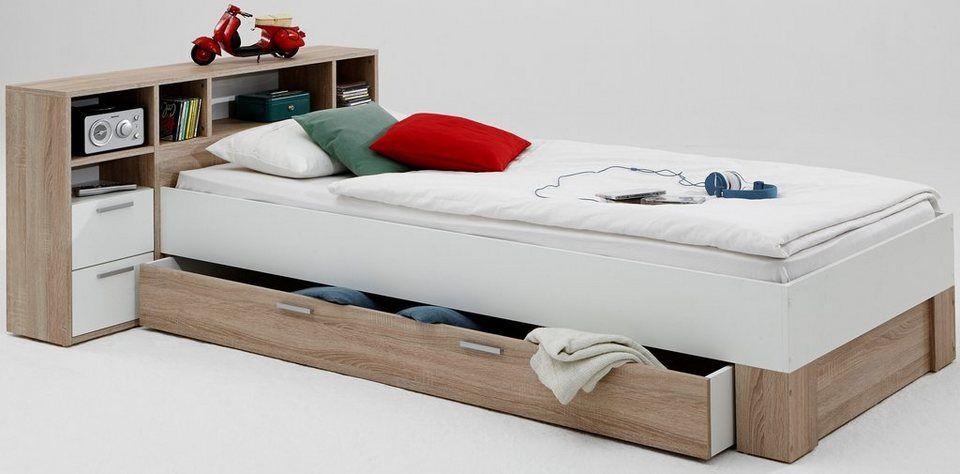 Fmd Funktionsbett Inkl Bettschublade Online Kaufen Bett Mit Schubladen Kinderbett Jugendbett Bett