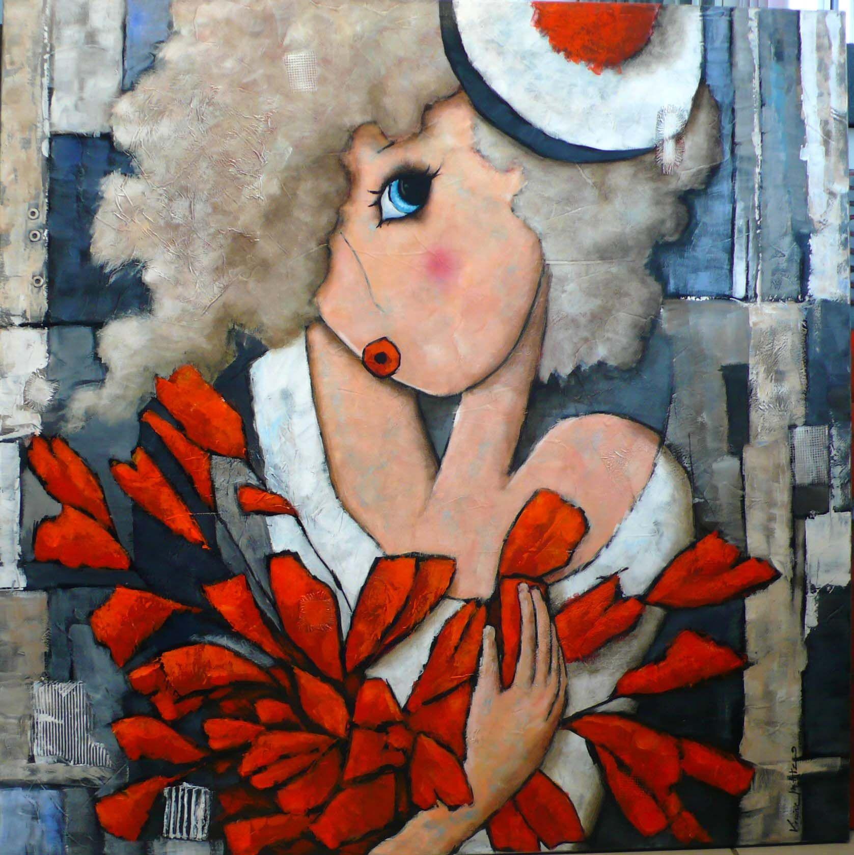 Collection Citadines Virginie Matz Peintures D Art Populaire