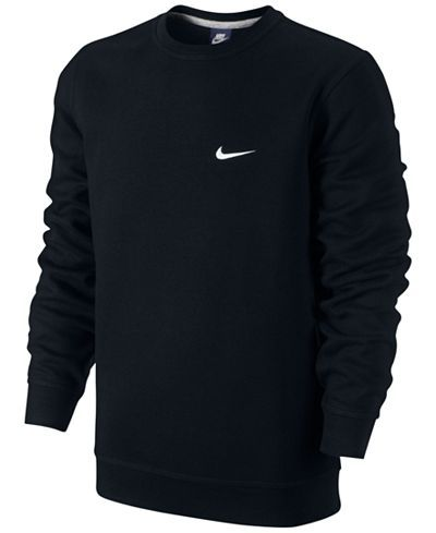 Nike Men's Classic Fleece Crew Pullover Hoodies