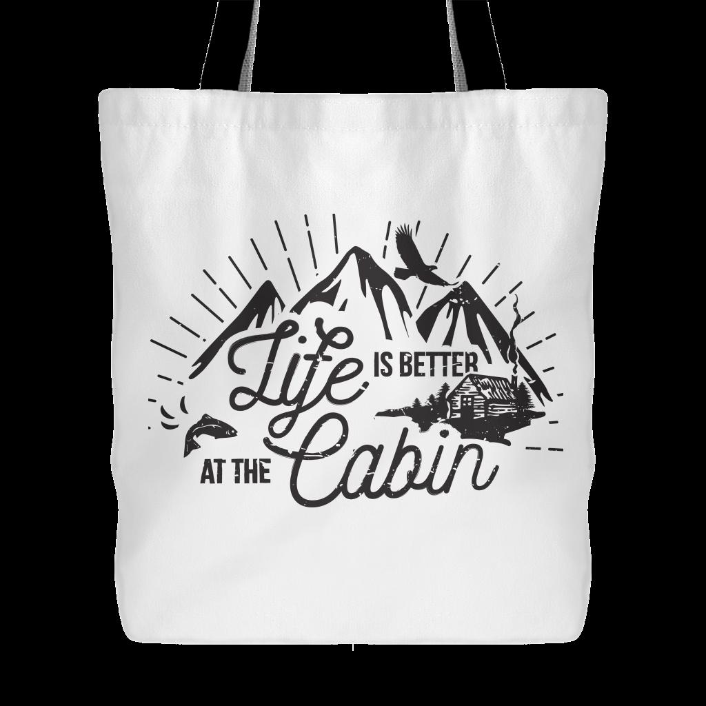 Canadian Cabin Life Tote Bag Tote bag, Bags, Reusable