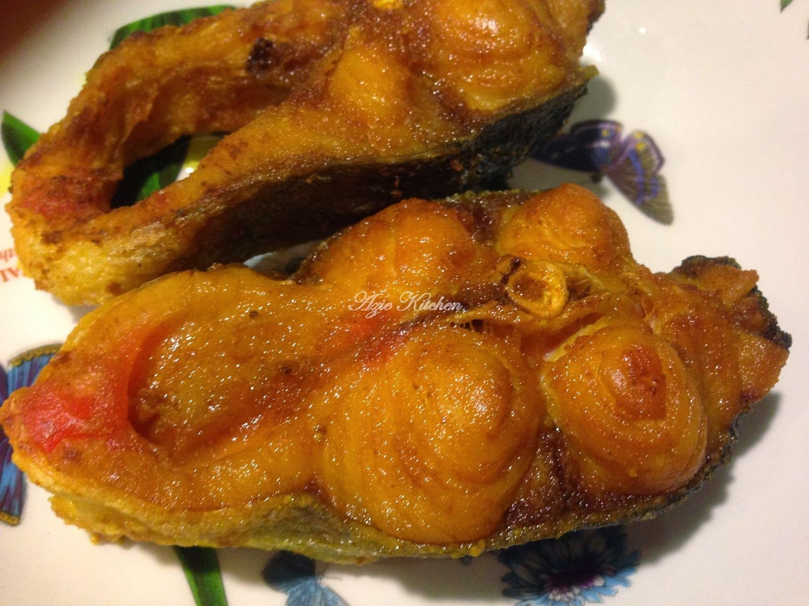 Azie Kitchen: Ikan Patin Buah Goreng Pun Soodaap | Malay food ...